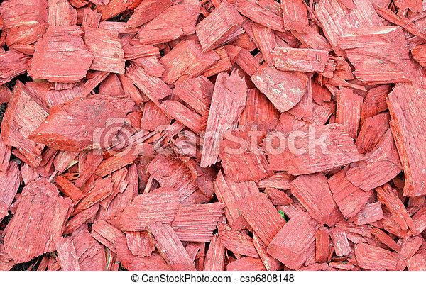 Pel culas de madera astilla o jard n pajote csp6808148 for Astillas de madera para jardin