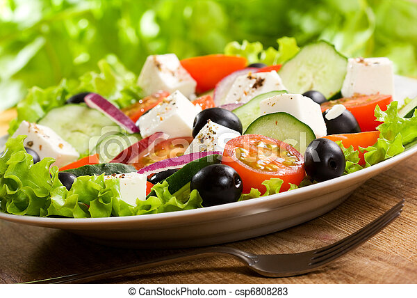 greek salad - csp6808283