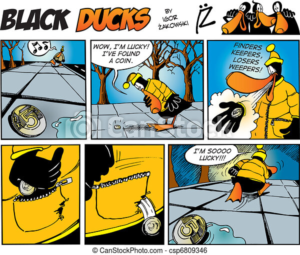 Black Ducks Comics episode 71 - csp6809346