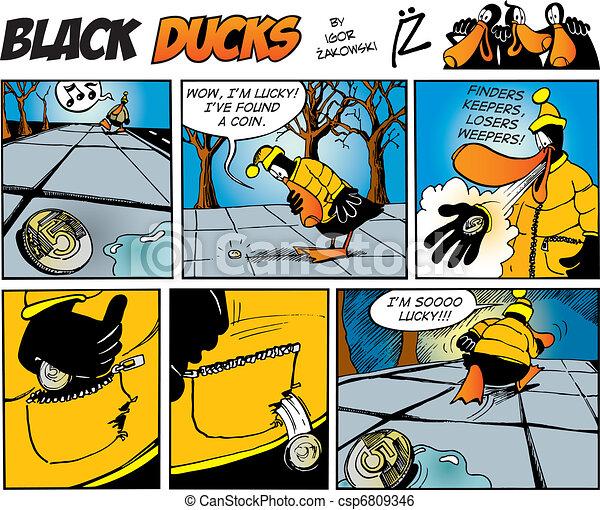 Black Ducks Comics episode 71 - csp6809346