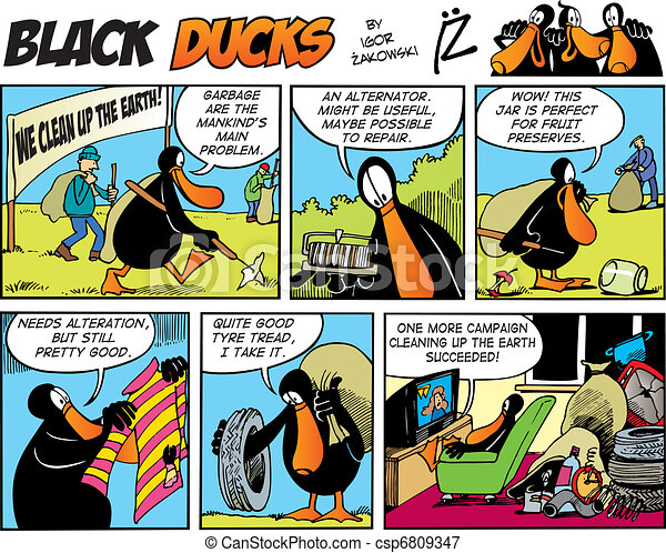 Black Ducks Comics episode 72 - csp6809347