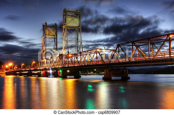 Bridge at Dusk - csp6809907