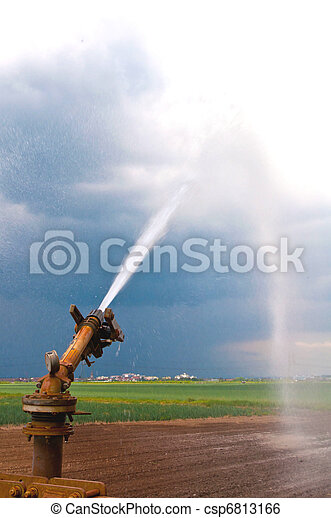 Agriculture water spray - csp6813166