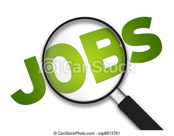 Magnifying Glass - Jobs - csp6813761