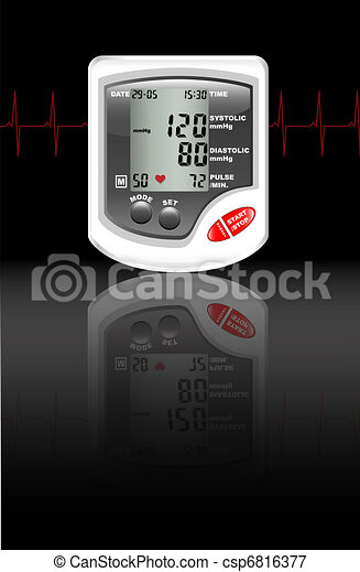 Blood pressure monitor - csp6816377