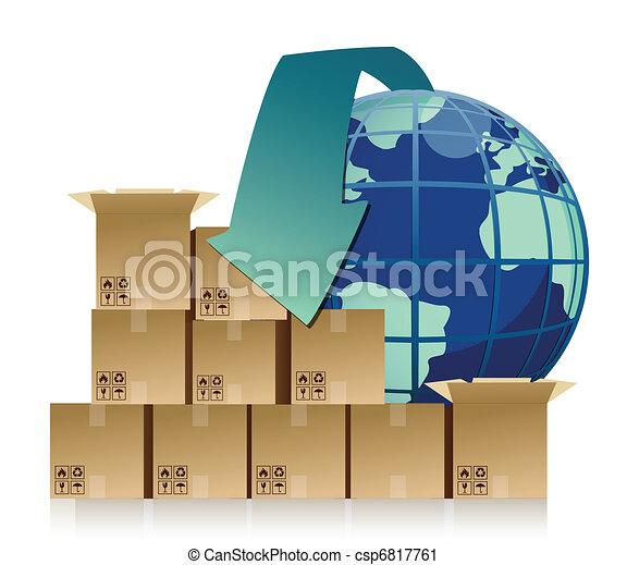 concepto de empresa global: