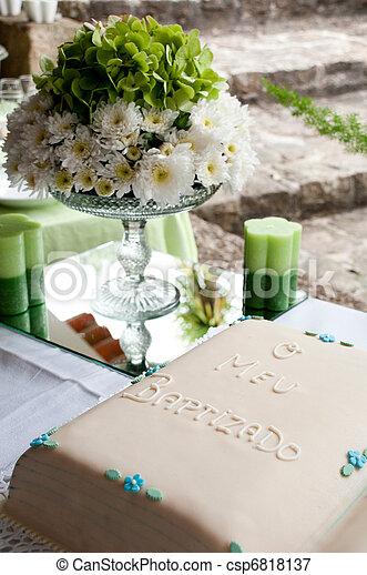 Bilder von kuchen, Taufe - schöne, Taufe, oder, Taufe, kuchen, mit, a ...