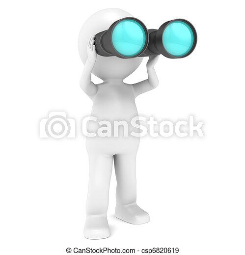 Binoculars. - csp6820619