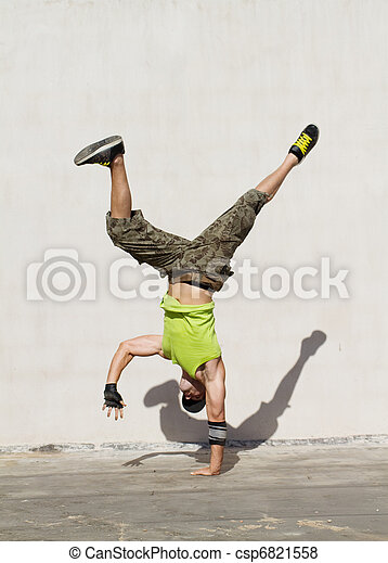 hip hop dance - csp6821558