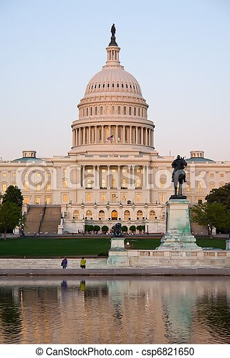 Capitol, Washington DC - csp6821650