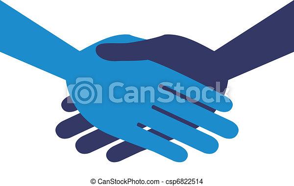 Handshake symmetry.  - csp6822514