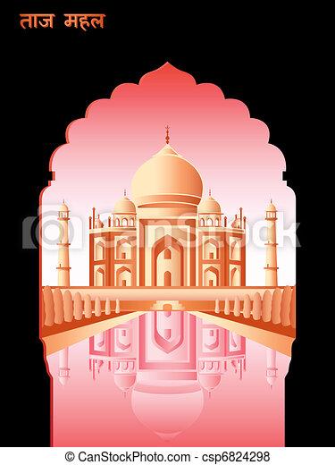 Taj Mahal - csp6824298