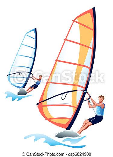 Windsurfing - csp6824300