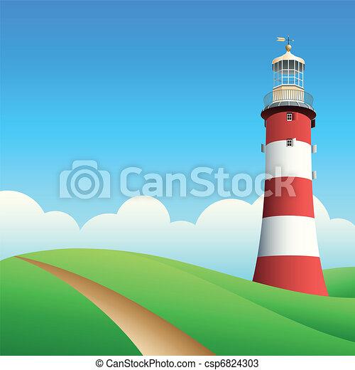 Lighthouse - csp6824303