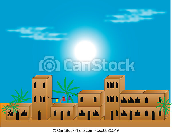 Arabic quarter - csp6825549
