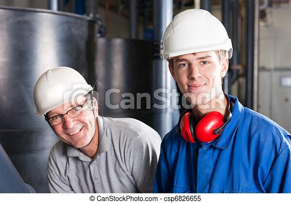 happy engineers - csp6826655