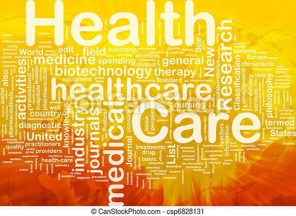 Health care background concept - csp6828131