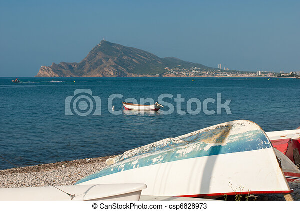 Altea bay - csp6828973