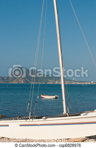 Altea bay - csp6828976