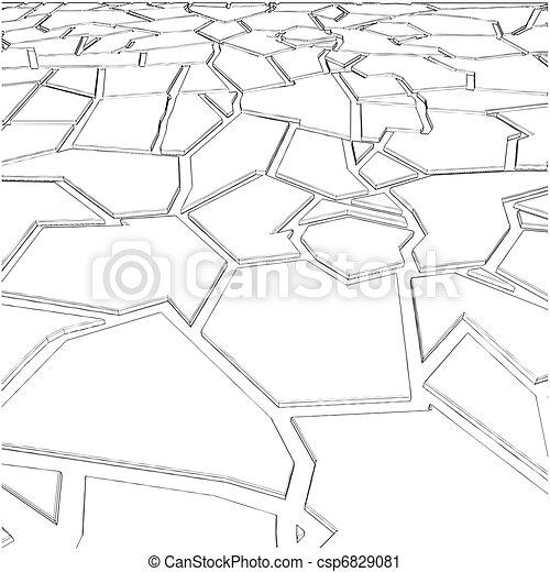 Tile Irregular Stone - csp6829081