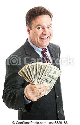 Rich Successful Businessman - csp6829186