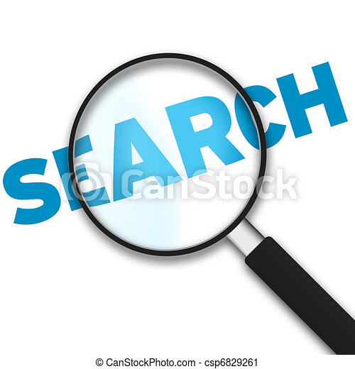 Search Magnifying Glass Clip Art