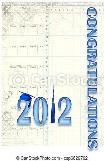 2012 Graduation - csp6829762