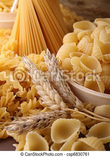 uncooked pasta - csp6830761