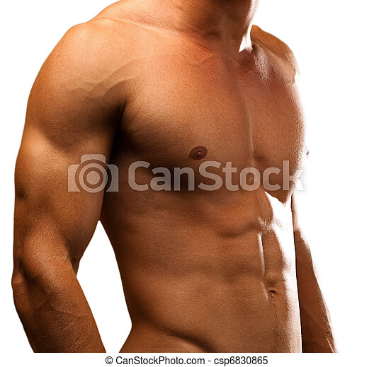 muscle man - csp6830865