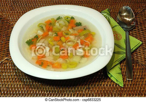 Chicken soup - csp6833225