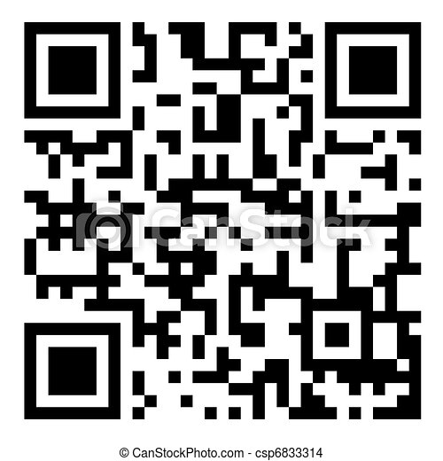 QR Bar code - csp6833314
