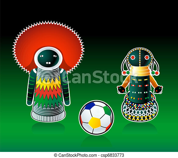 South african dolls - csp6833773