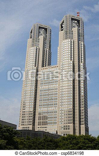 Tokyo Metropolitan Government Building - csp6834198