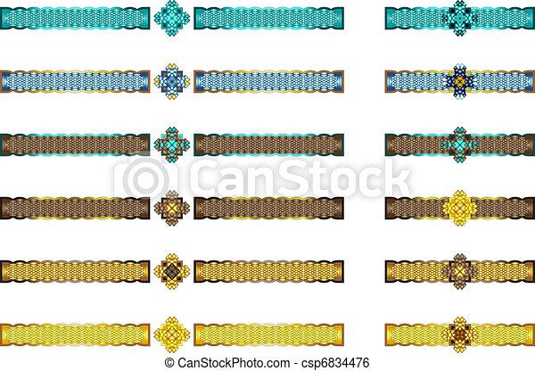 Celtic dividers - csp6834476