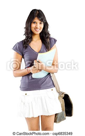 latin college student - csp6835349