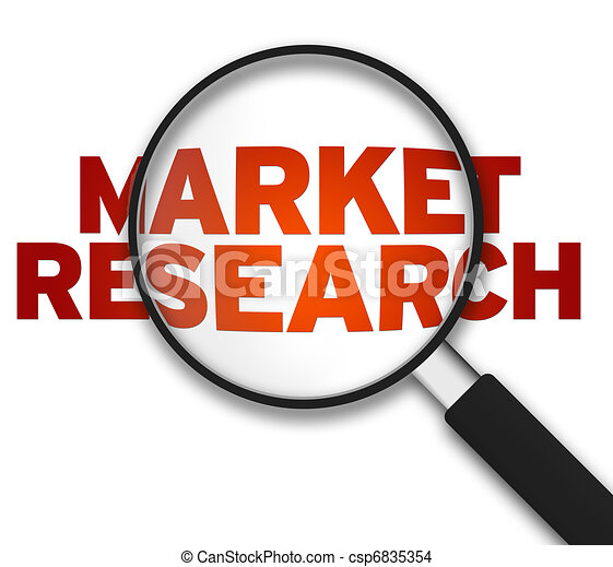 Magnifying Glass - Market Research - csp6835354