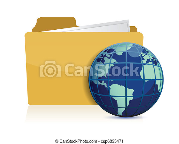 international business concept - csp6835471