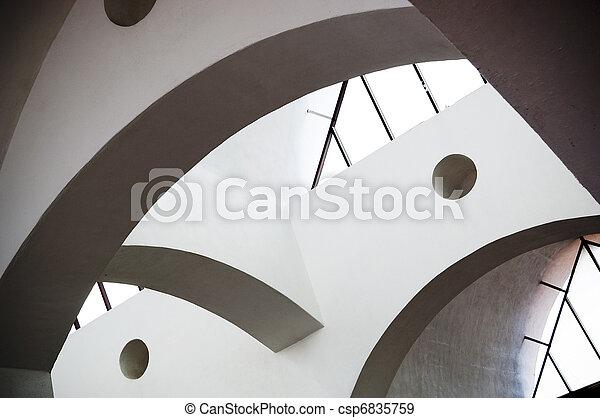 abstrakt, arkitektur - csp6835759