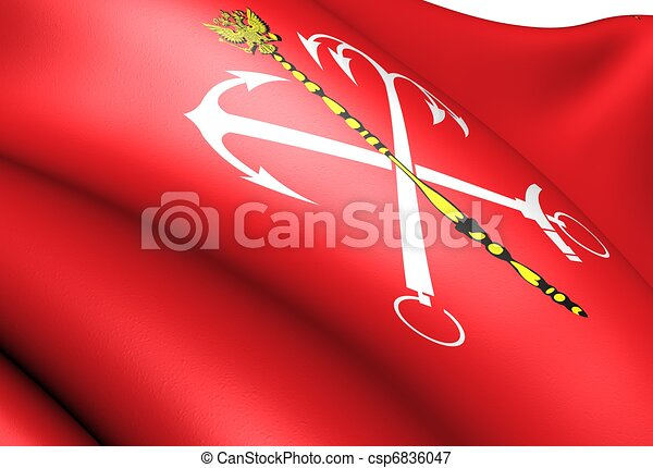 Flag of Saint Petersburg - csp6836047