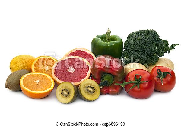 Vitamin C Food Sources - csp6836130