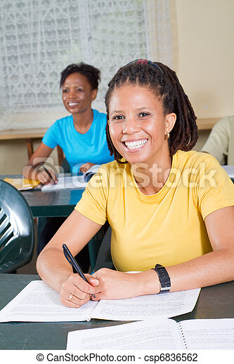 african american adult students - csp6836562