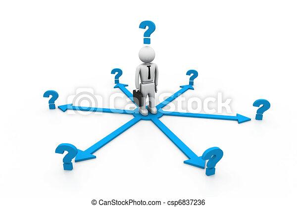 Choices Dilemma - csp6837236