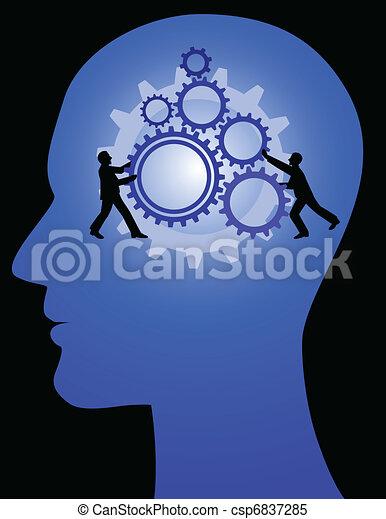 man idea - csp6837285