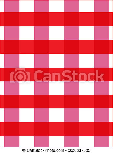 checkerboard tablecloth - csp6837585