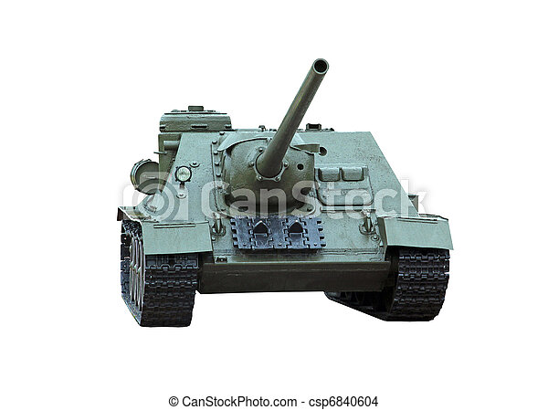 self-propelled gun - csp6840604