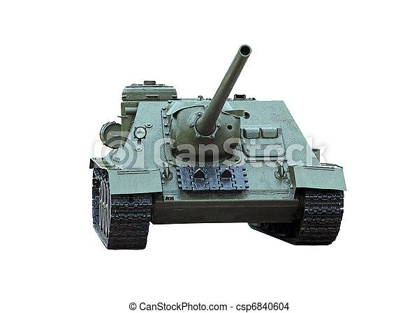 self-propelled gun - csp6840604