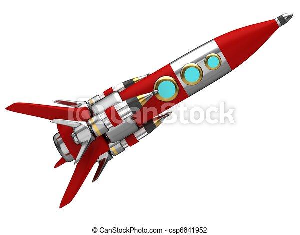 Space rocket - csp6841952