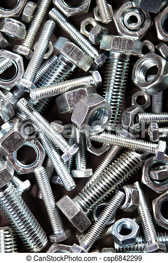 nuts and bolts - csp6842299