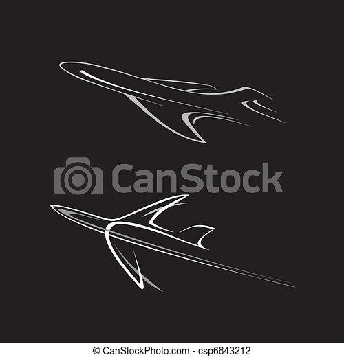 Plane - csp6843212