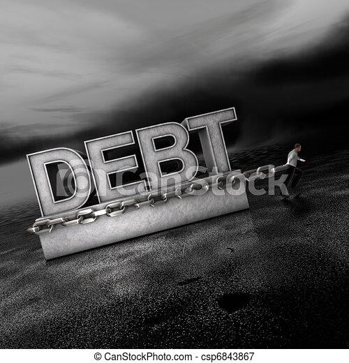 Debt: A Weight on Markets Going Forward - csp6843867